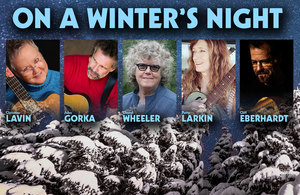 """On A Winter's Night"" featuring John Gorka, Cliff Eberhardt, Patty Larkin & Lucy Kaplansky"